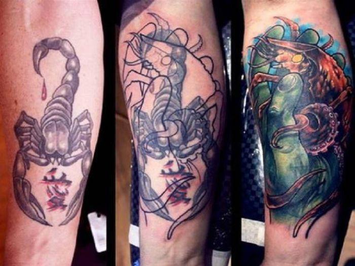 Tetovējumu labojumi – tagad par jaunības dullumu iespējams lepoties, nevis kaunēties
