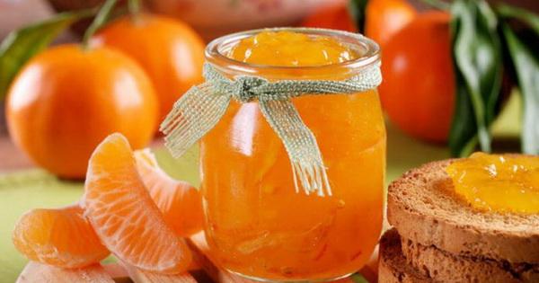 Aromātisks mandarīnu ievārījums! Gatavoju katru gadu