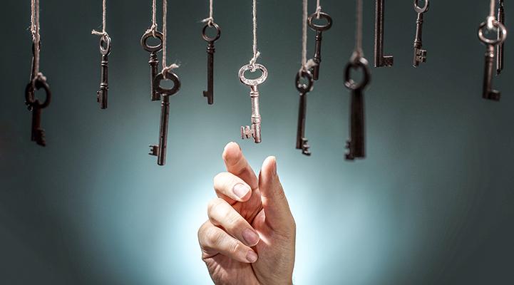 Izvēlieties atslēgu, ar kuras palīdzību jūs gribētu attaisīt vecu šķūni, un uzziniet interesantas lietas par savu personību