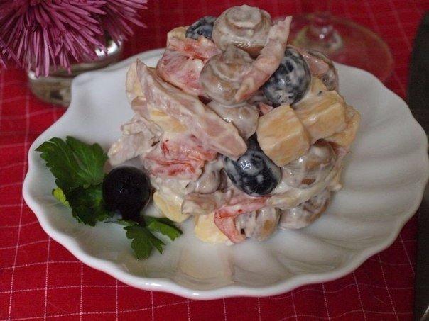 """Brīnišķīgi salāti """"Svētku"""" – gatavoju uz visiem  svarīgajiem pasākumiem!"""