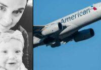 Viņas sasildošā publikācija pēc tam, kad kāds viņai ar bērnu atdeva savu vietu lidmašīnā