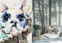 Modernas tapetes – 12 neticami veidi, kā izmainīti interjeru tikai dienas laikā. FOTO