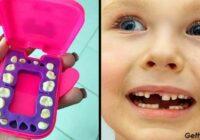 Kāpēc vairāk nevar vienkārši izmest bērna piena zobus. Tie var tev kādreiz noderēt!