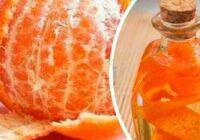 Veselības problēmas, ko mandarīnu mizas ārstē labāk par zālēm. Apbrīnojams līdzeklis!
