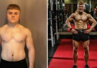 22 gadus vecs vēža slimnieks, kuram ārsti vēl deva 5 gadus, 12 nedēļu laikā pilnībā izmainīja savu ķermeni