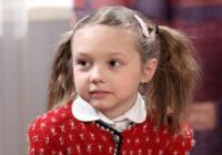 """Mazulīte Podziņa no seriāla """"Tētuka meitiņas"""" izaugusi liela un apbur ar neticamu skaistumu"""
