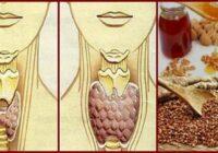 Samaisiet pa vienai glāzei griķu putraimus, valriekstus un medus, un jūsu vairogdziedzeris atdzīvosies