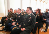 Vidzemes Augstskola pārrunā sadarbību ar Baltijas Aizsardzības koledžu
