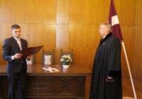 Ģenerālprokurors pieņem piecu jauno prokuroru zvērestus
