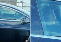 Kāds piefiksējis, kā Tesla vadītājs guļ pie stūres, braucot ar ātrumu 100 km stundā. Vai tas tiešām ir tik droši?