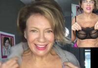 VIDEO: 62 gadus vecā Žanna Dubska šokē savus sekotājus un nekautrējoties atrāda kailas krūtis