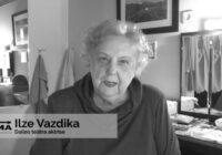 """""""Kā var mocīt valdību!"""" Aktrise Ilze Vazdika par vakcinēšanos"""